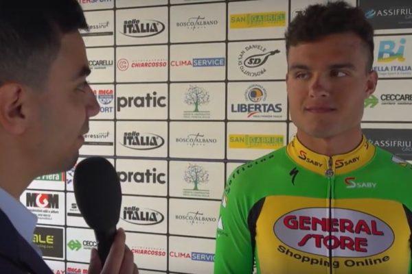 Friuli: Francesco Di Felice domina lo sprint, Clement Champoussin nella generale